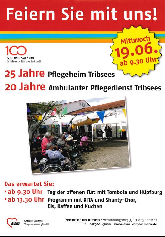 Sommerfest  in Tribsees am 19. Juni 2019